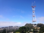 Mount Sutro with the tower atop