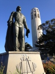 Coit Tower and Colombus