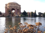 Palace of Fine Arts up in the Presidio